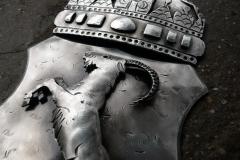Ziege - Wappen aus Metall